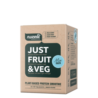 Just Fruit & Veg Sachet Box