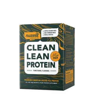 Clean Lean Protein Functional Flavours Sachet Box