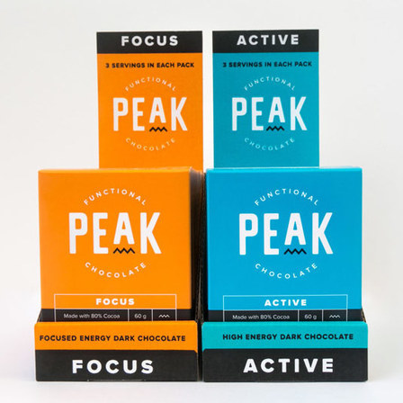 Peak Chocolate - 12 Pack Box